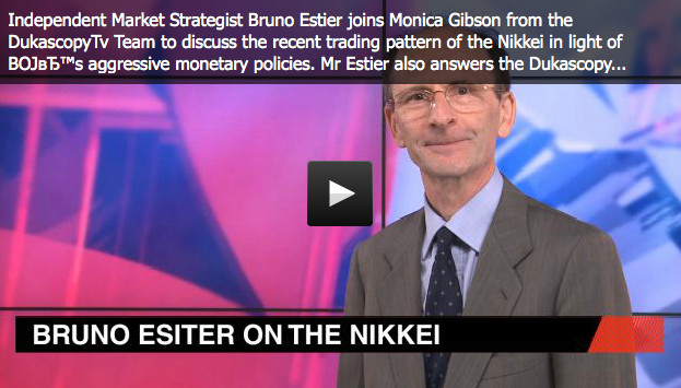 Link to the inverview of Bruno Estier on April 22nd, 2013